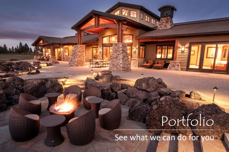 Custom Home Design Landscape